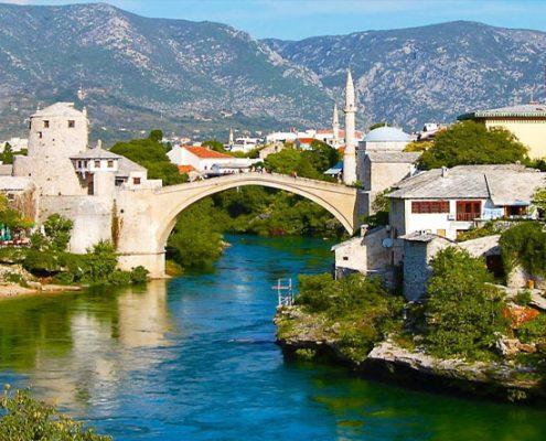 Босна и Херцеговина - Сараево, Мостар, Вишеград и Андричград с 3 нощувки дневен преход