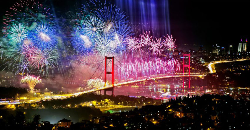 Нова година 2020 в Истанбул и Църквата на първия ден